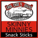 Choo Choo R Snacks Skinny Minnie's