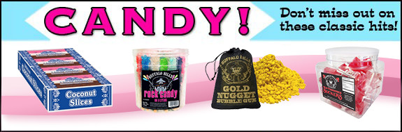 Don't miss out on our classic candy at wholesale prices.