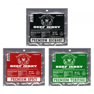 Buffalo Bills Premium Beef Jerky 1oz Packs - 12-Ct Refills