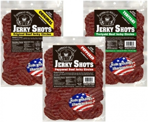Buffalo Bills Jerky Shots (Circles) - 14oz Bags