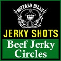 Buffalo Bills Beef Jerky Circles