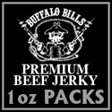 Buffalo Bills Premium Beef Jerky 1oz Packs