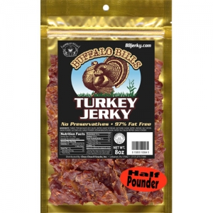 Buffalo Bills Turkey Jerky - 8oz Packs
