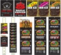 Buffalo Bills 1.5oz Jerky Packs 70-Pc Starter Kit