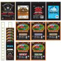 Buffalo Bills 3oz & 2.6oz Jerky Packs 50-Pc Starter Kit