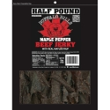 Buffalo Bills Premium Maple Pepper Beef Jerky Pieces - 8oz Packs