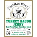 Buffalo Bills Premium Turkey Bacon Jerky - 3oz Packs